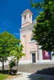 Iglesia en Nuoro, Cerdeña fotos de archivo
