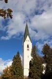Iglesia en Oberstdorf Fotografía de archivo libre de regalías