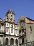 Iglesia en Oporto Fotos de archivo libres de regalías