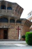 Iglesia en Oporto Ercole (Grosseto) Imagen de archivo