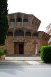 Iglesia en Oporto Ercole (Grosseto) Imagen de archivo libre de regalías