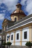 Iglesia en Otavalo Imagen de archivo libre de regalías