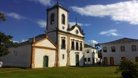 Iglesia en Paraty - RJ Imagen de archivo libre de regalías