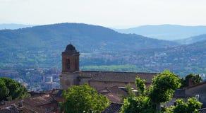 Iglesia en Perugia, Italia fotografía de archivo