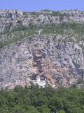 Iglesia en piedra foto de archivo