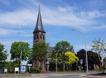 Iglesia en Pijnacker, los Países Bajos Foto de archivo libre de regalías