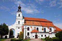 Iglesia en Polonia Imagen de archivo libre de regalías