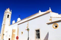 Iglesia en Portimao - Algarve Fotografía de archivo libre de regalías