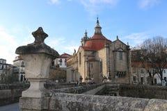 Iglesia en Portugal Foto de archivo