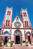 Iglesia en Puducherry fotos de archivo