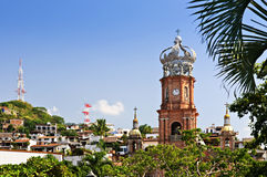 Iglesia en Puerto Vallarta, Jalisco, México imágenes de archivo libres de regalías