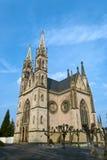 Iglesia en Remagen, Alemania de Apollinaris Imagen de archivo