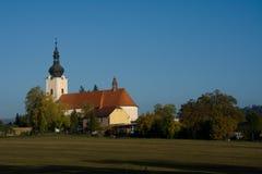 Iglesia en República Checa Imagen de archivo