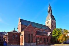 Iglesia en Riga Fotografía de archivo libre de regalías