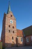 Iglesia en Rudkøbing Foto de archivo