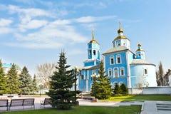 Iglesia en Rusia Imagenes de archivo