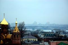 Iglesia en Rusia Imagen de archivo