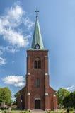 Iglesia en Rya Foto de archivo