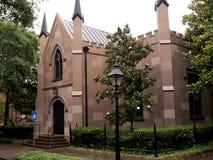 Iglesia en sabana en Georgia los E.E.U.U. Foto de archivo