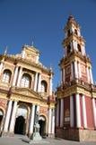 Iglesia en Salta, la Argentina Fotografía de archivo libre de regalías