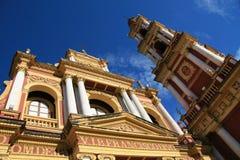 Iglesia en Salta, la Argentina Imágenes de archivo libres de regalías