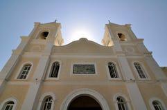 Iglesia en San Jose Del Cabo México Imagen de archivo