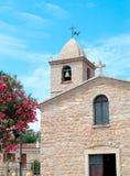 Iglesia en San Pantaleo Imagen de archivo