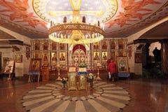 Iglesia en sangre en honor Imagen de archivo