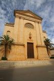 Iglesia en Ses Salines Imagen de archivo libre de regalías