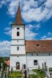 Iglesia en Sibiel fotos de archivo