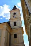 Iglesia en Sibiu céntrica, capital europea de la cultura por el año 2007 Fotografía de archivo