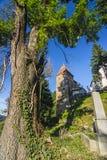 iglesia en Sighisoara Imágenes de archivo libres de regalías