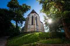 iglesia en Sighisoara Fotografía de archivo