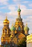 Iglesia en St Petersburg fotografía de archivo libre de regalías