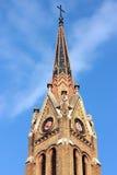 Iglesia en Subotica Imagenes de archivo