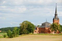 Iglesia en Suecia Fotos de archivo