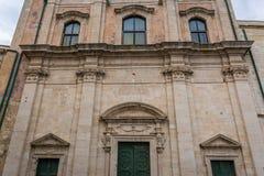 Iglesia en Syracuse Imagenes de archivo