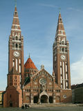 Iglesia en Szeged Foto de archivo