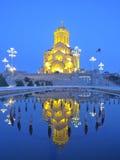 Iglesia en Tbilisi, Georgia Imagen de archivo