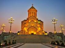 Iglesia en Tbilisi, Georgia Fotografía de archivo libre de regalías
