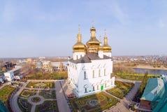 Iglesia en Tyumen foto de archivo libre de regalías