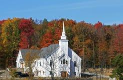 Iglesia en upstate Nueva York Imágenes de archivo libres de regalías