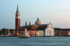 Iglesia en Venecia Fotografía de archivo