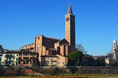 Iglesia en Verona, Italia Imagen de archivo libre de regalías