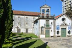Iglesia en Viana do Castelo Fotos de archivo