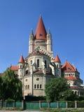 Iglesia en Viena, Austria Imagen de archivo libre de regalías