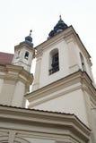 Iglesia en Vilnius fotografía de archivo libre de regalías