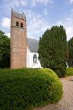 Iglesia enyesada blanca Foto de archivo libre de regalías