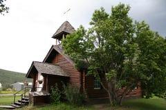 Iglesia episcopal, Nenana, Alaska Fotos de archivo libres de regalías