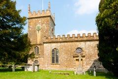 Iglesia escénica fotografía de archivo